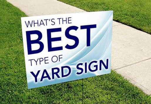 Lawn & Real Estate Signs